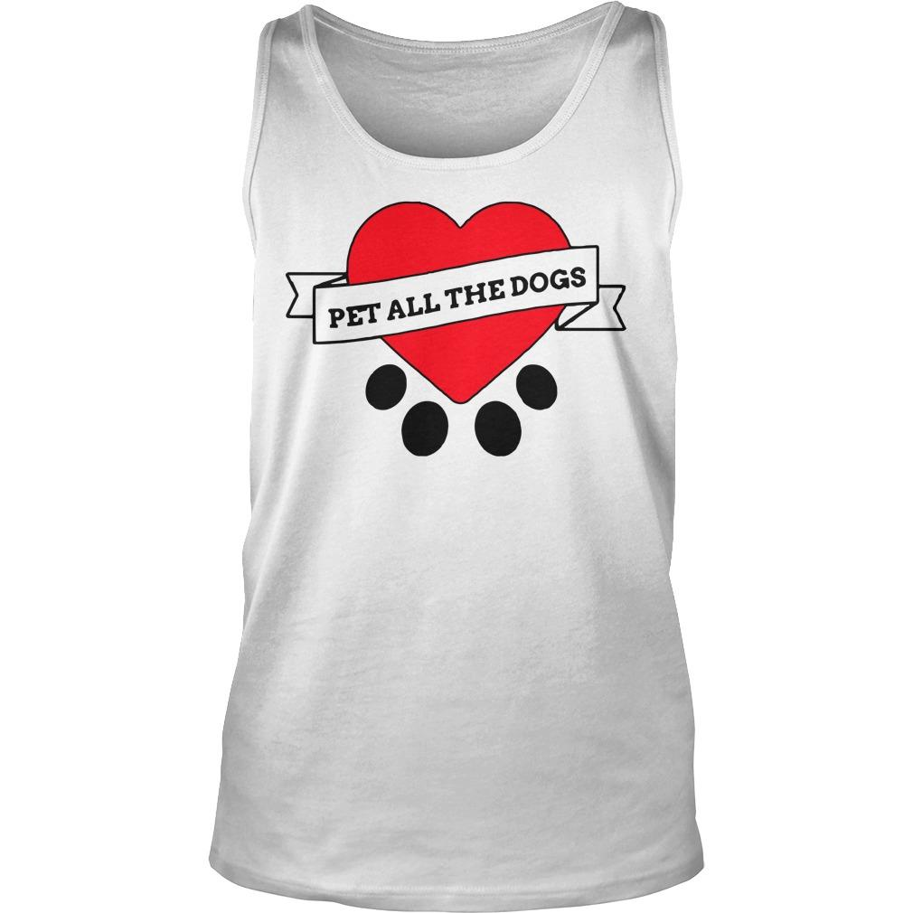 We Rate Dogs Pet All The Dogs Tank Top
