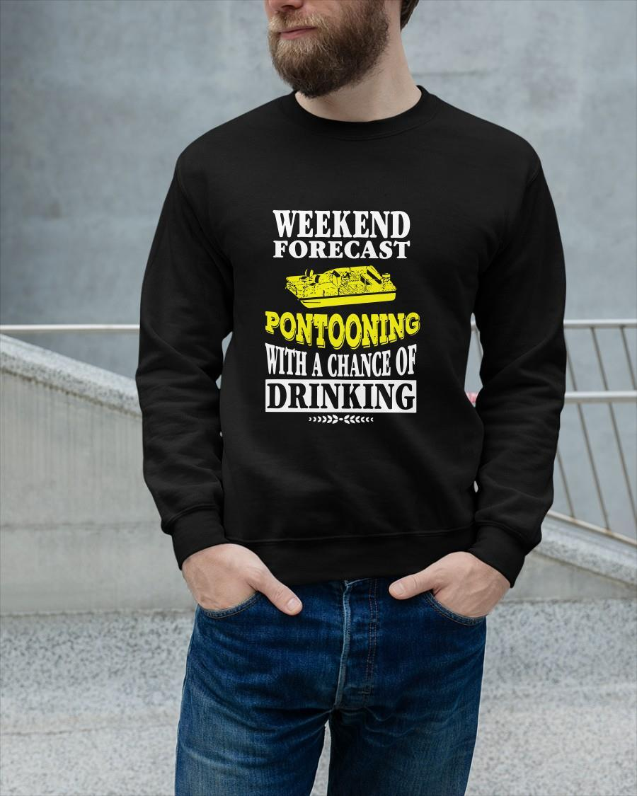 Weekend Forecast Pontooning With A Chance Of Drinking Longsleeve