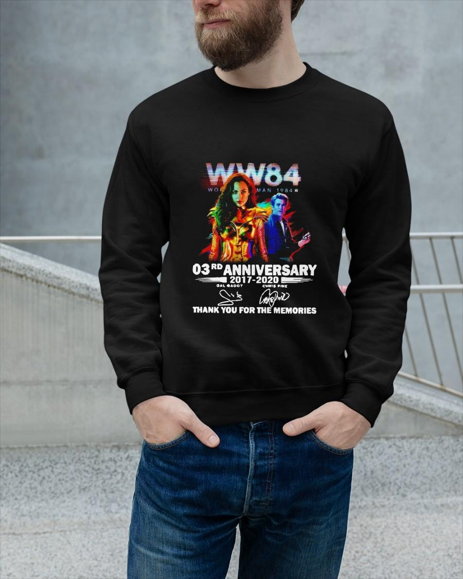 Wonder Woman 1984 03rd Anniversary Thank You For The Memories Signature Sweater