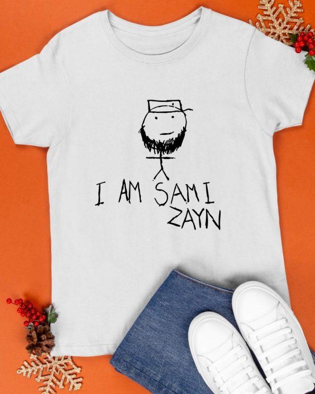 Wwe I Am Sami Zayn Shirt