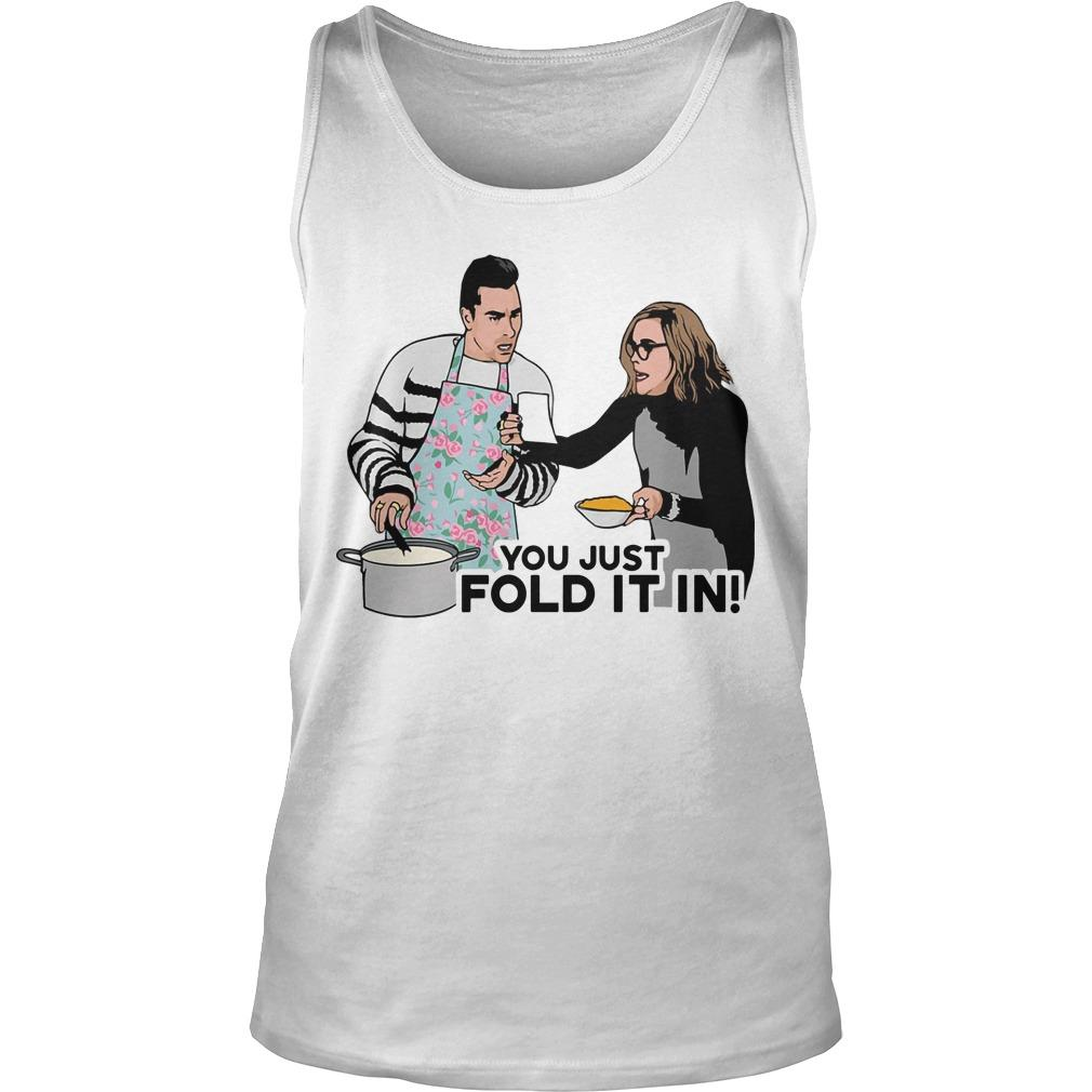 You Just Fold It In Tank Top