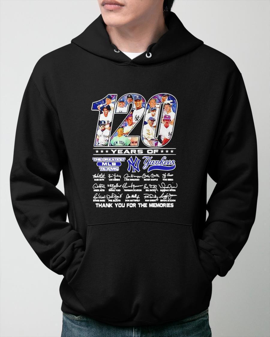 120 Years Of The Greatest Mlb Team New York Yankees Hoodie