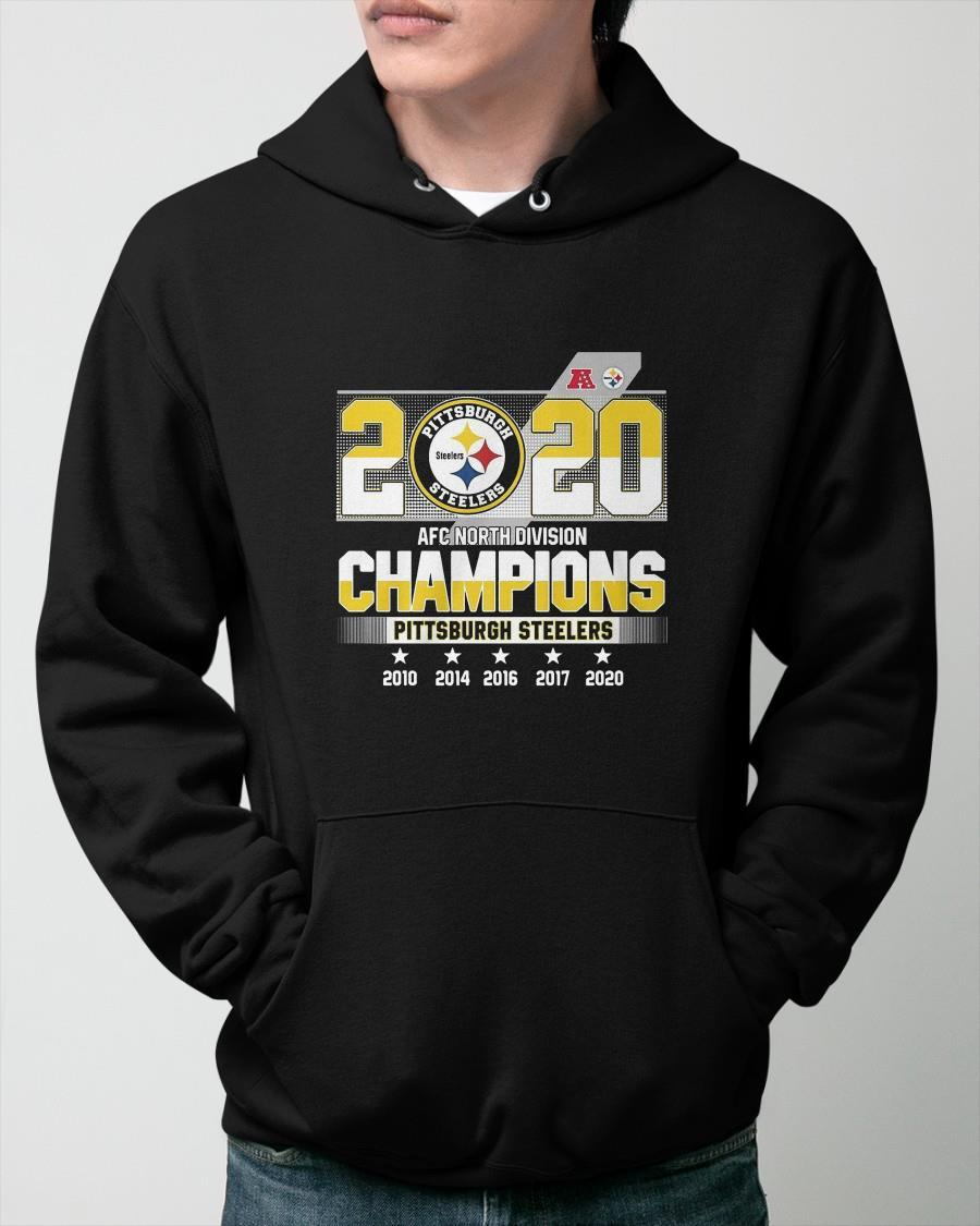 2020 Afc North Division Champions Pittsburgh Steelers Hoodie