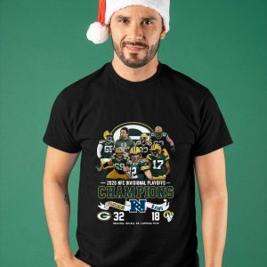 2020 Nfc Divisional Playoffs Champions Packers Rams Shirt