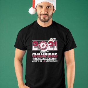 2021 Cfp National Champions Alabama Crimson Tide Shirt