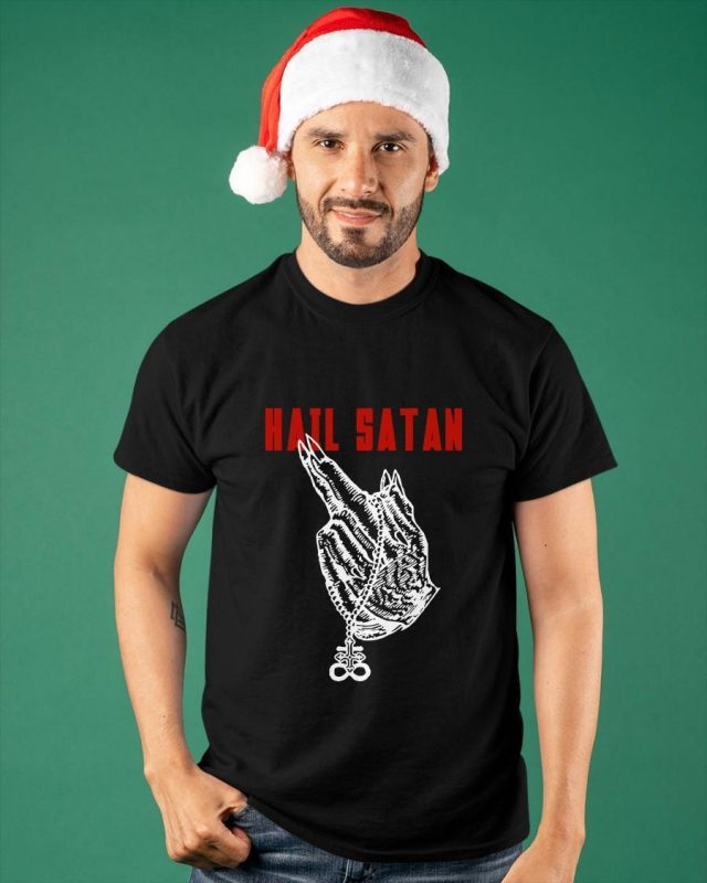 2021 Evil Hail Satan Shirt