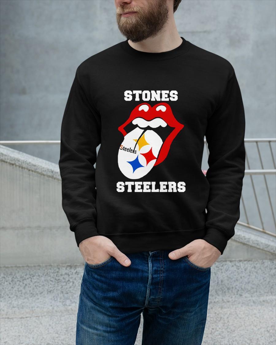 2021 Pittsburgh Steelers The Rolling Stones Steelers Longsleeve