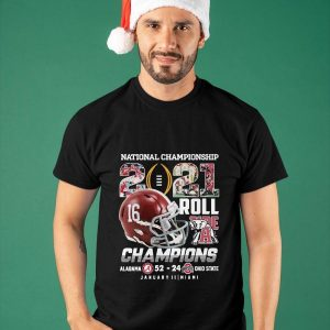 2021 Roll Alabama National Championship Shirt