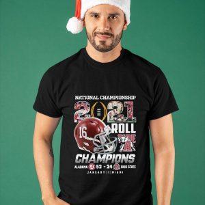 2021 Roll Alabama National Championship Shirt