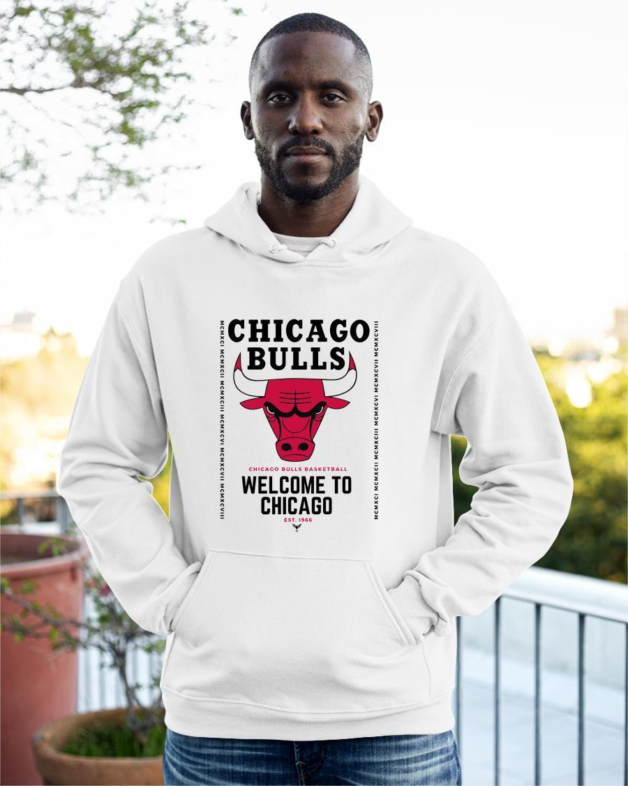 2021 Welcome To Chicago Chicago Bulls Hoodie