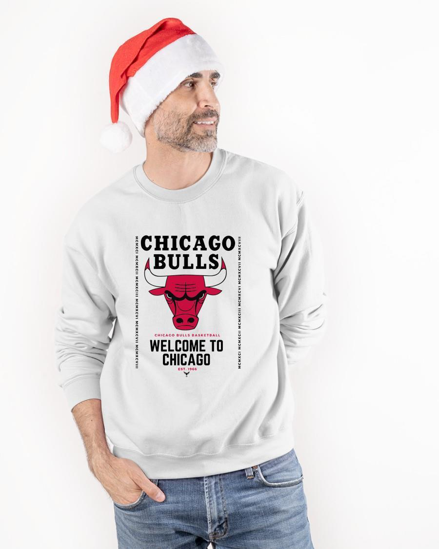 2021 Welcome To Chicago Chicago Bulls Sweater