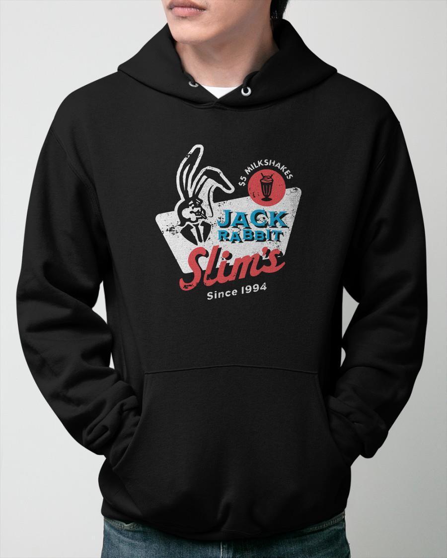 5 Milkshakes Jack Rabbit Slim's Since 1994 Hoodie