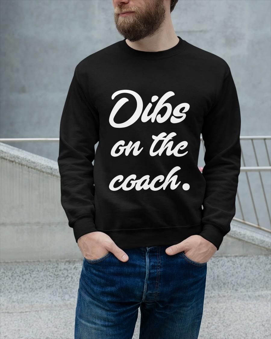 Baseball Dibs On The Coach Longsleeve