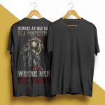 Beware An Old Man In A Profession Where Men Die Young Shirt