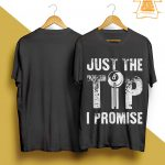 Billiard Just The Tip I Promise Shirt
