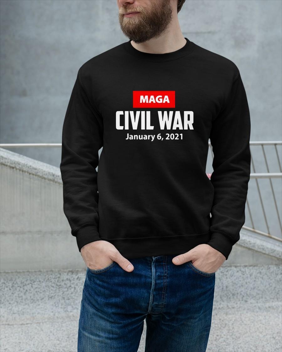 Civil War Jan 6 2021 Tank Top