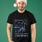 Daddy's Girl I Used To Be His Angel Now He Is Mine I Miss You Dad Shirt