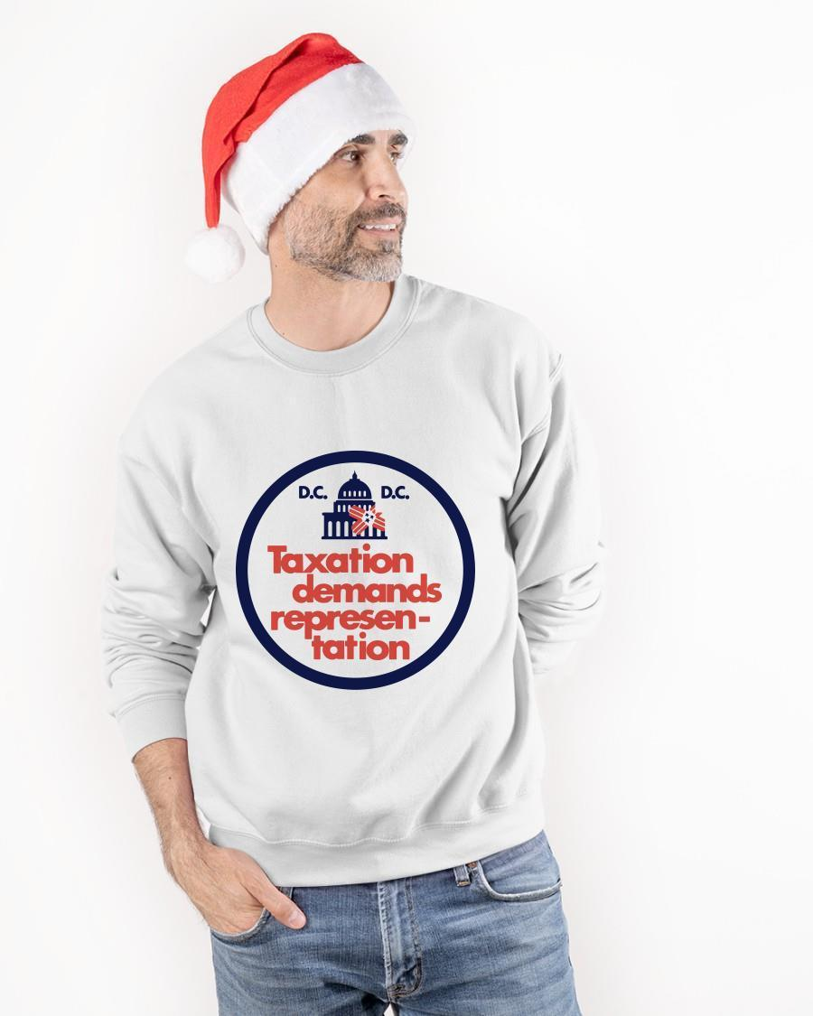 Dc Taxation Demands Representation Sweater