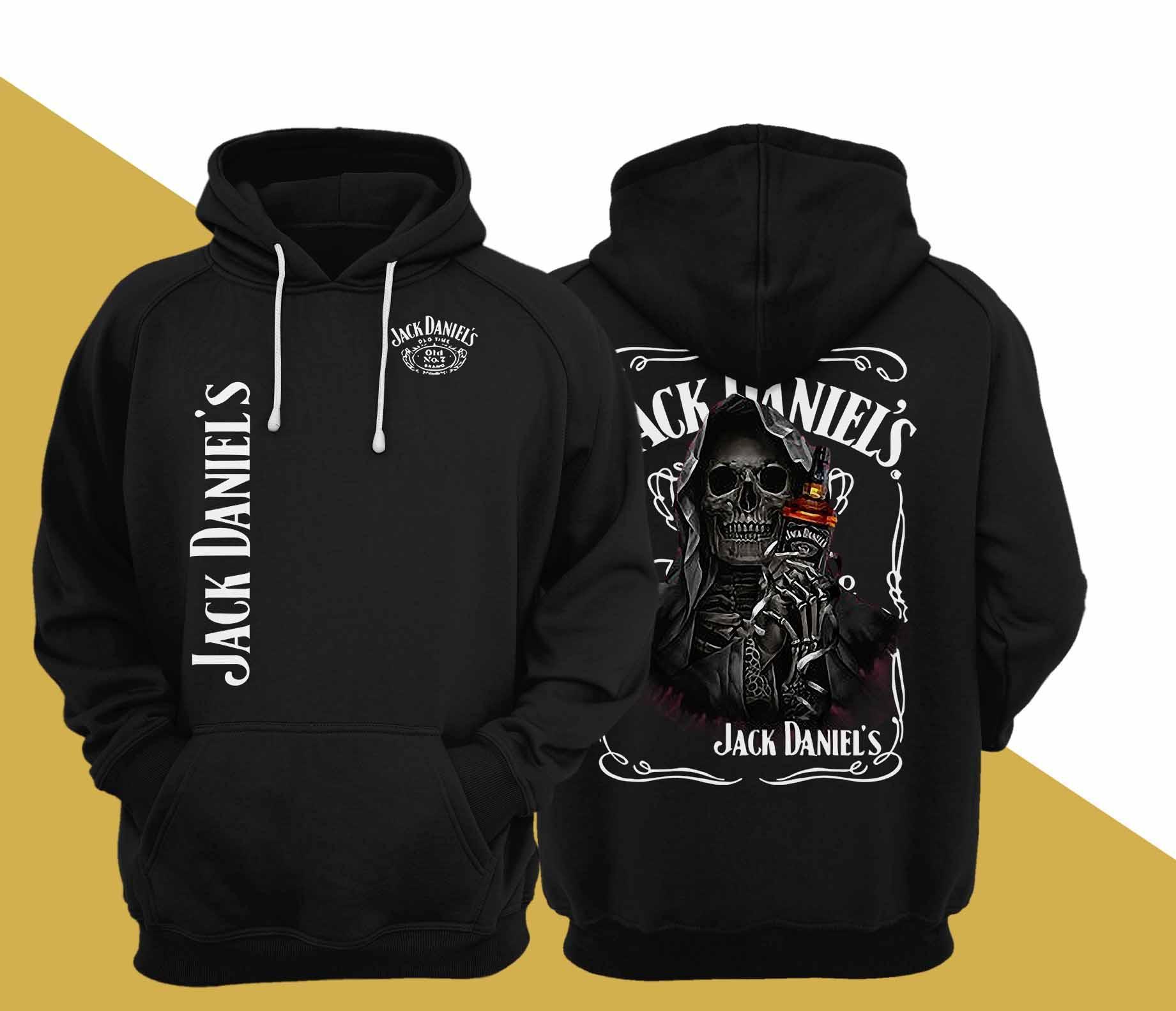 Death Jack Daniel's Hoodie