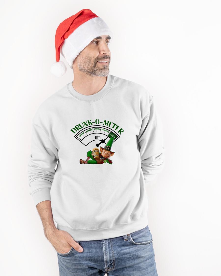 Drink Beer Drunk O Meter Sweater