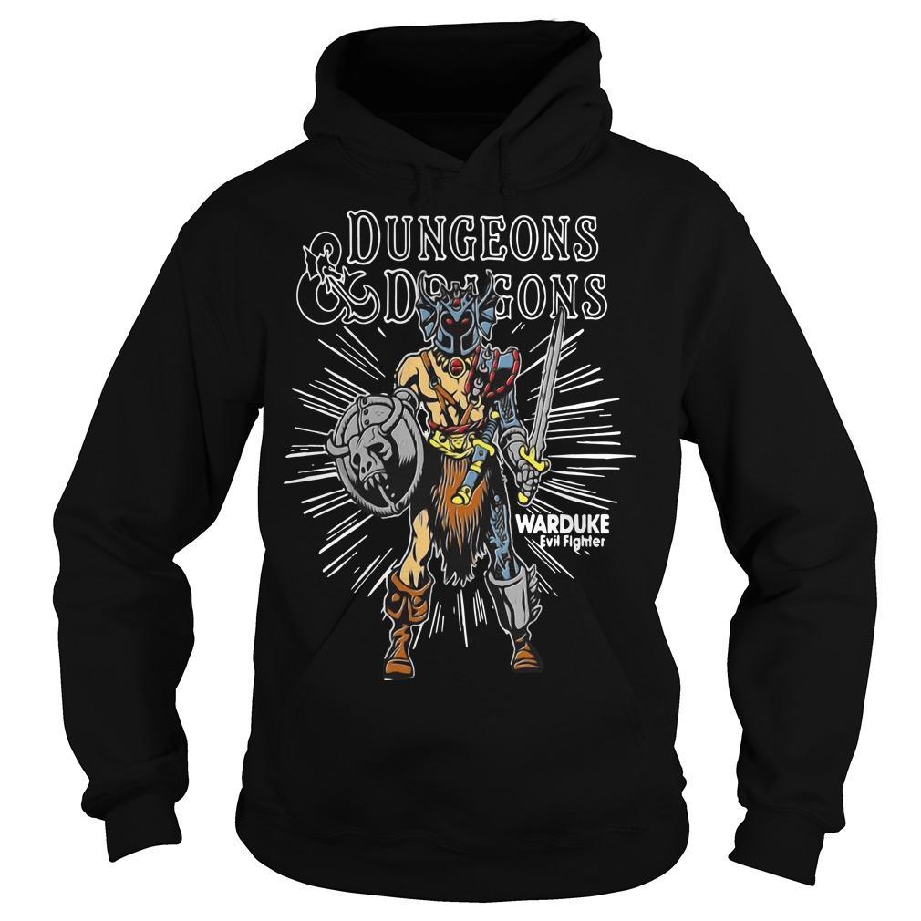 Dungeons Dragons Warduke Evil Fighter Hoodie