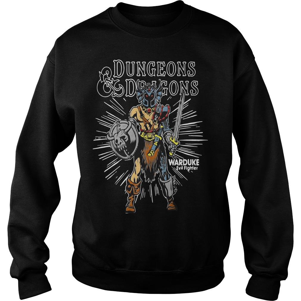 Dungeons Dragons Warduke Evil Fighter Sweater