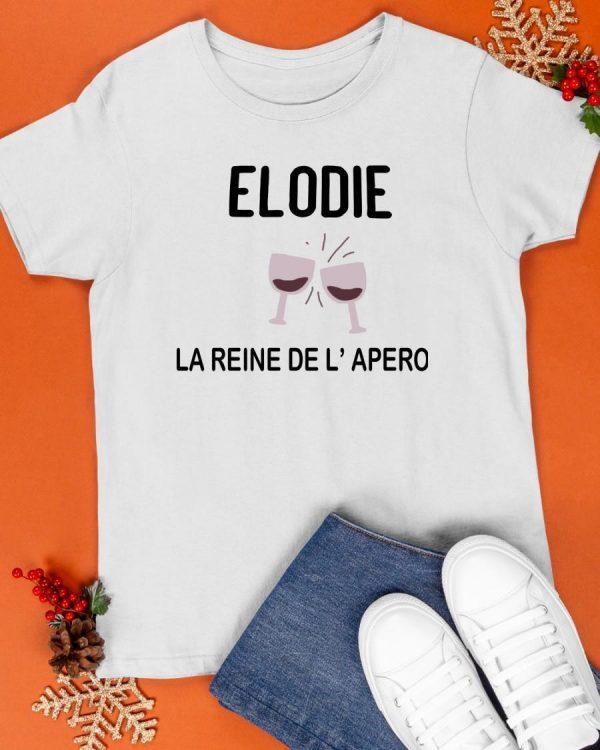 Elodie La Reine De L'apero Shirt