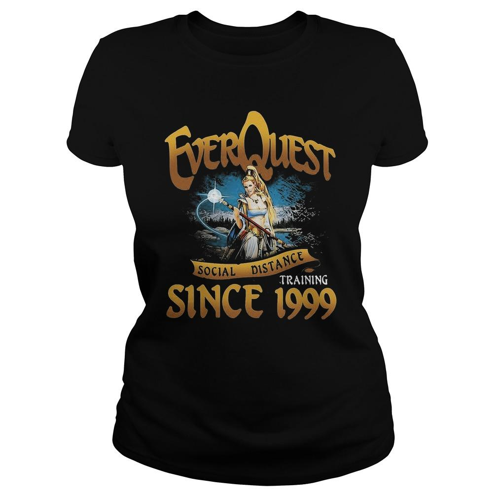 Everquest Social Distancing Training Since 1999 Longsleeve