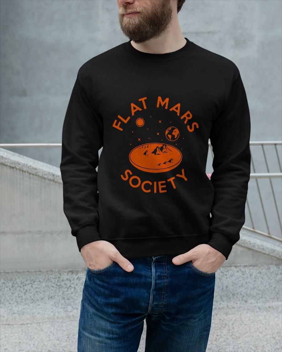 Flat Mars Society Longsleeve