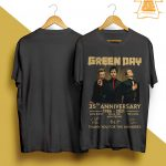 Green Day 35th Anniversary Thank You For The Memories Shirt