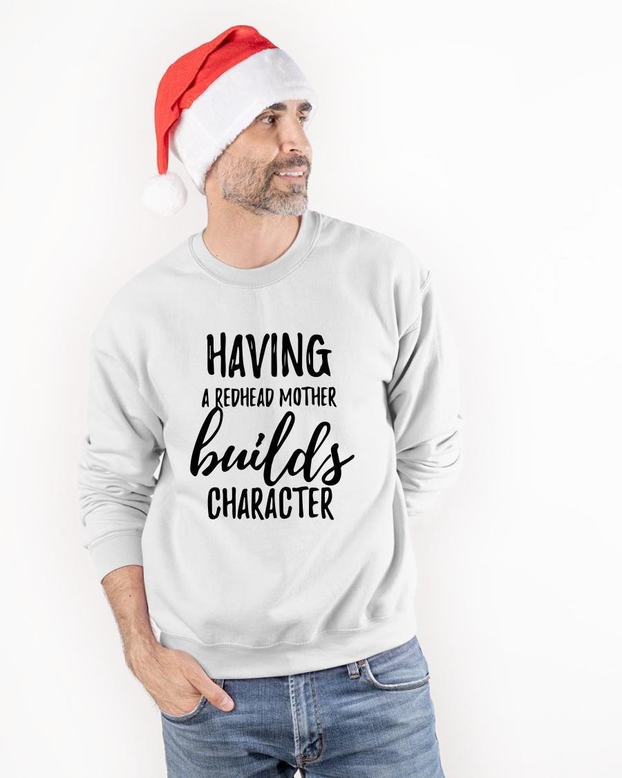 Having A Redhead Mother Builds Character Tank Top