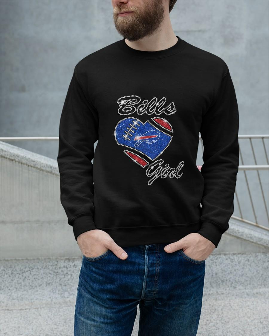 Heart Buffalo Bills Girl Sweater