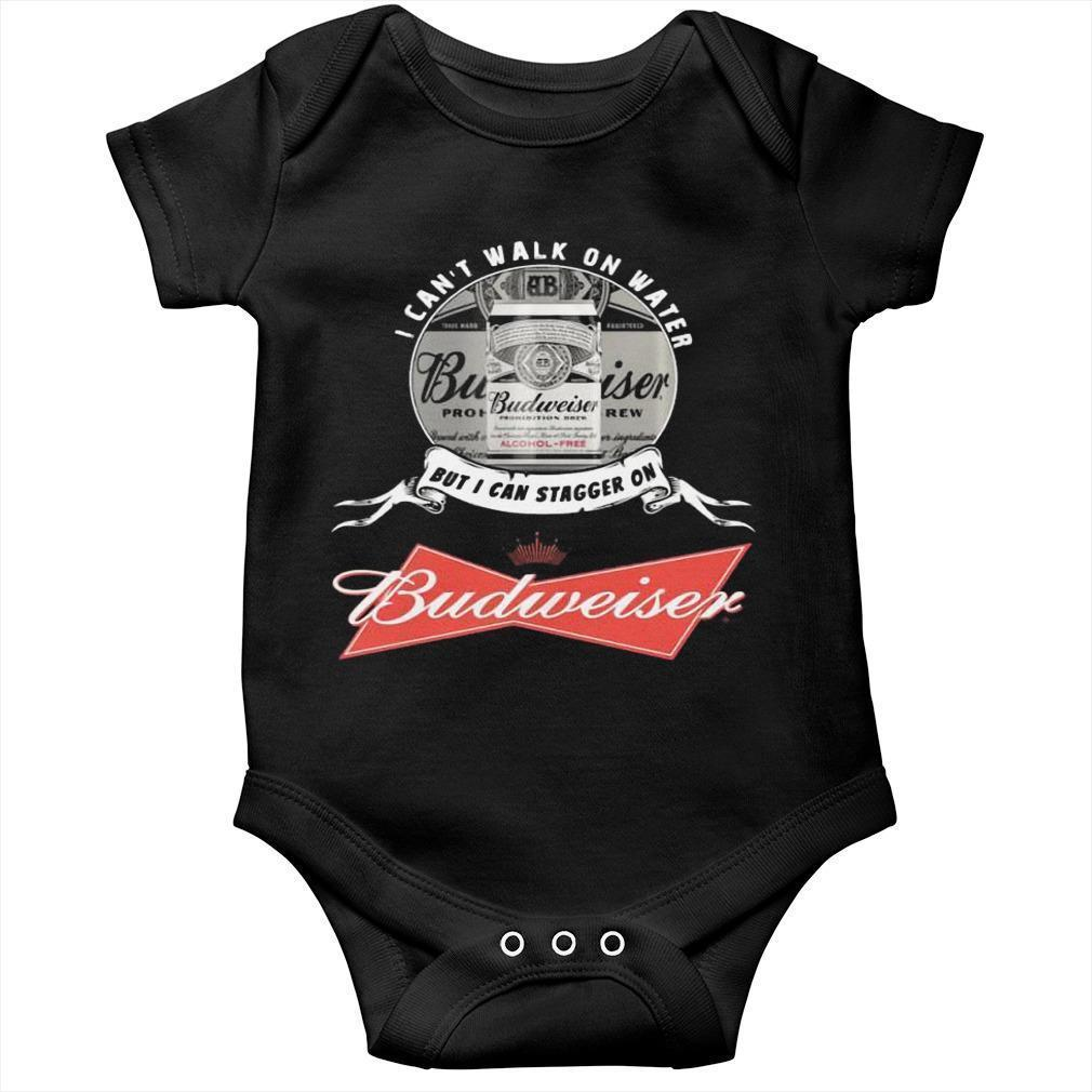 I Can't Walk On Water But I Can Stagger On Budweiser Longsleeve