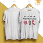 I Can't Talk Right Now I'm Busy Doing Hot Girl Stuff Shirt