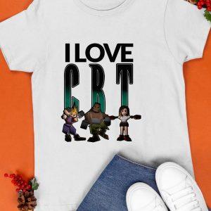 I Love Cbt Cloud Barret Tifa Shirt