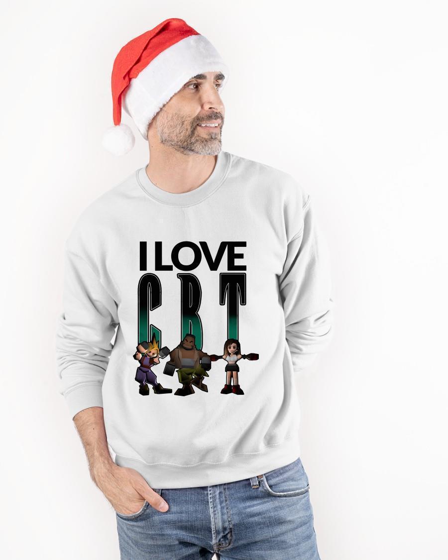 I Love Cbt Cloud Barret Tifa Sweater