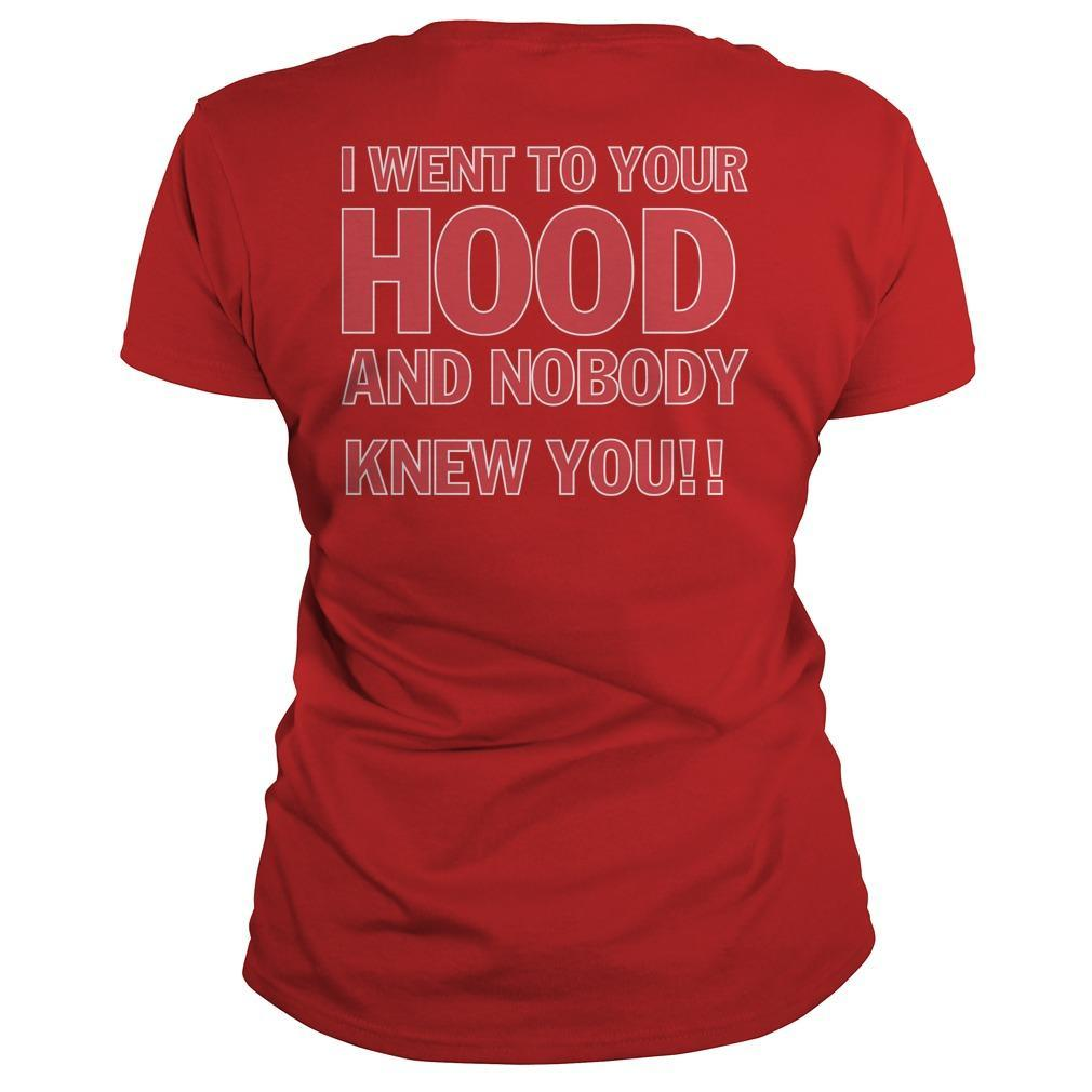 I Went To Your Hood And Nobody Knew You Tank Top
