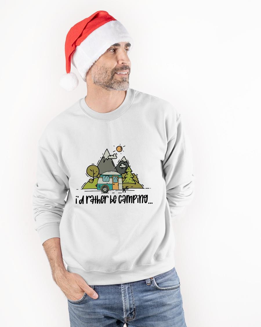 I'd Rather Be Camping Sweater
