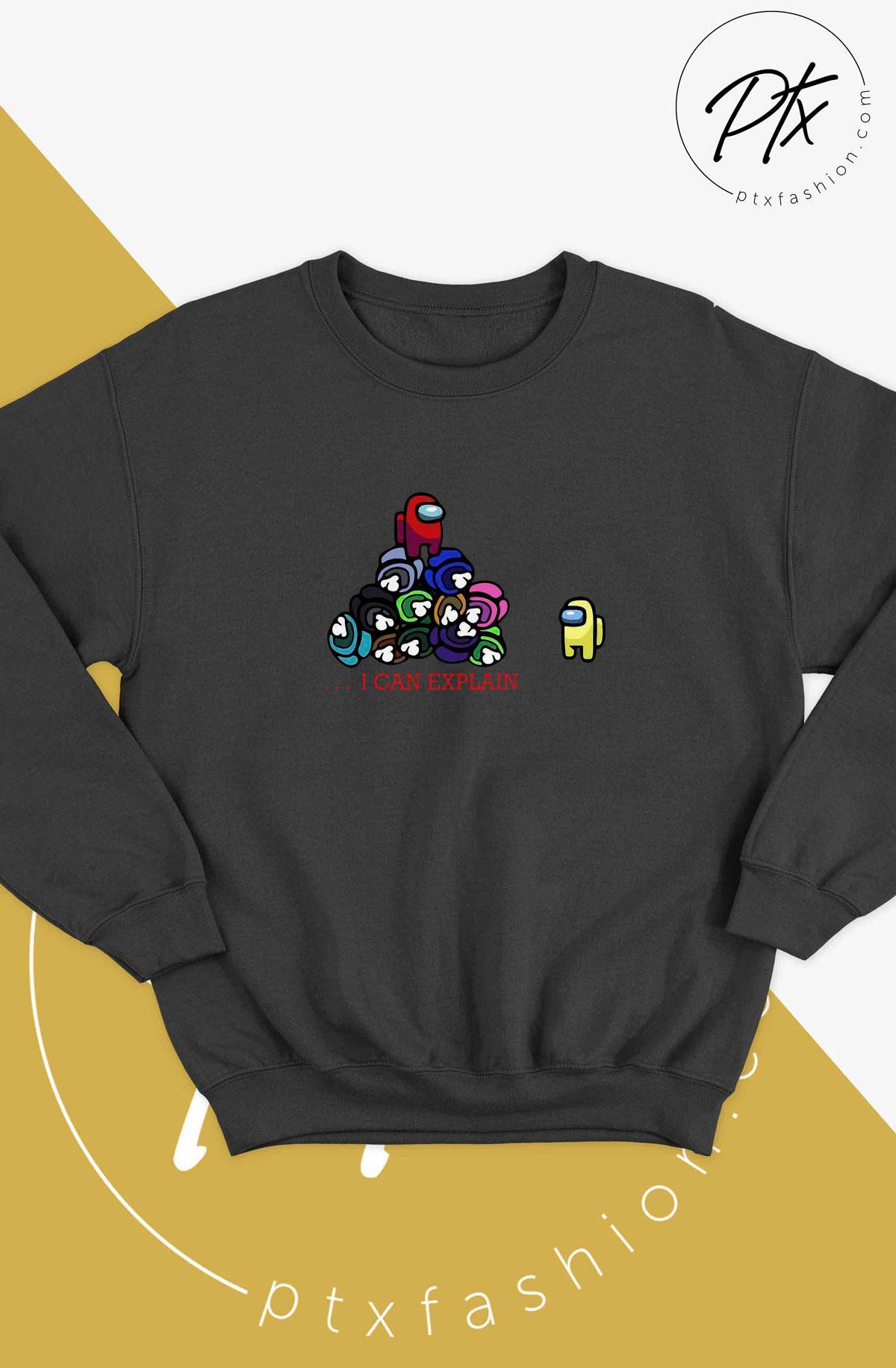 Impostor Among Us I Can Explain Sweater