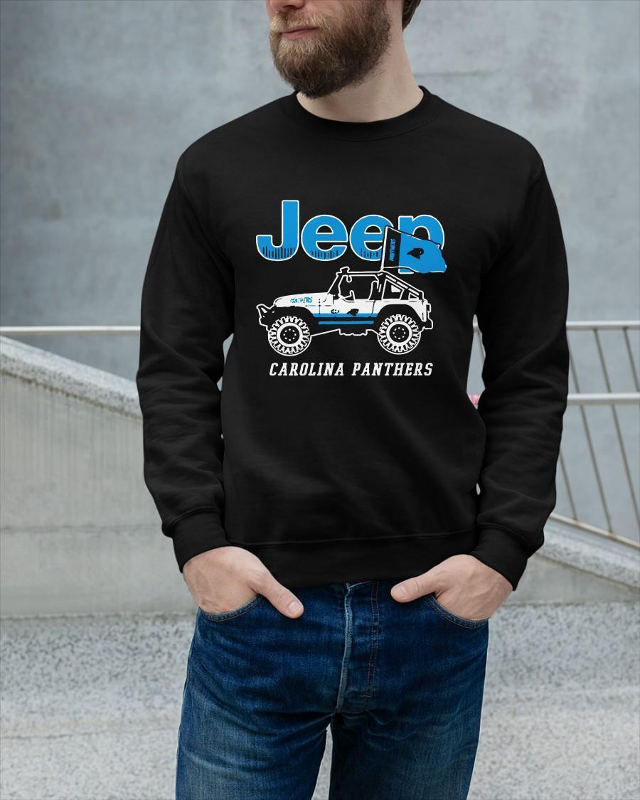 Jeep Carolina Panthers Sweater