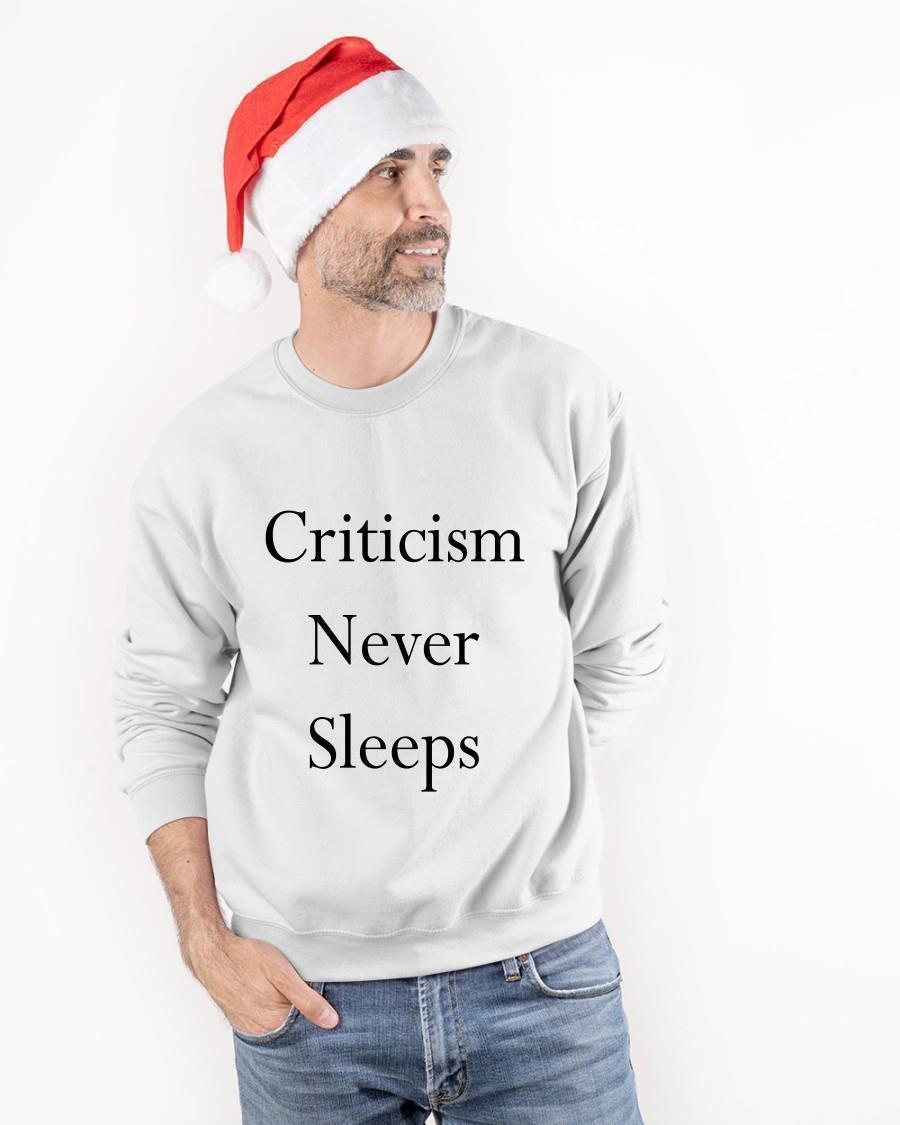 Jerry Saltz Criticism Never Sleeps Sweater