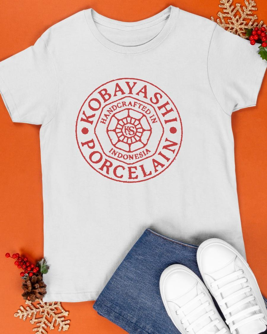 Kobayashi Porcelain Handcrafted In Indonesia Shirt
