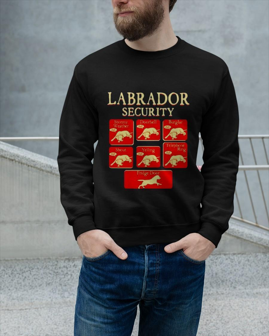 Labrador Retriever Security Sweater