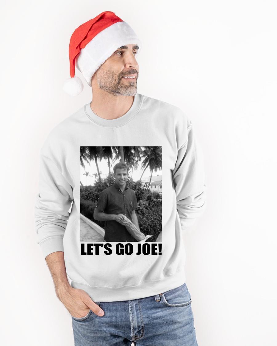 Let's Go Young Joe Biden Sweater