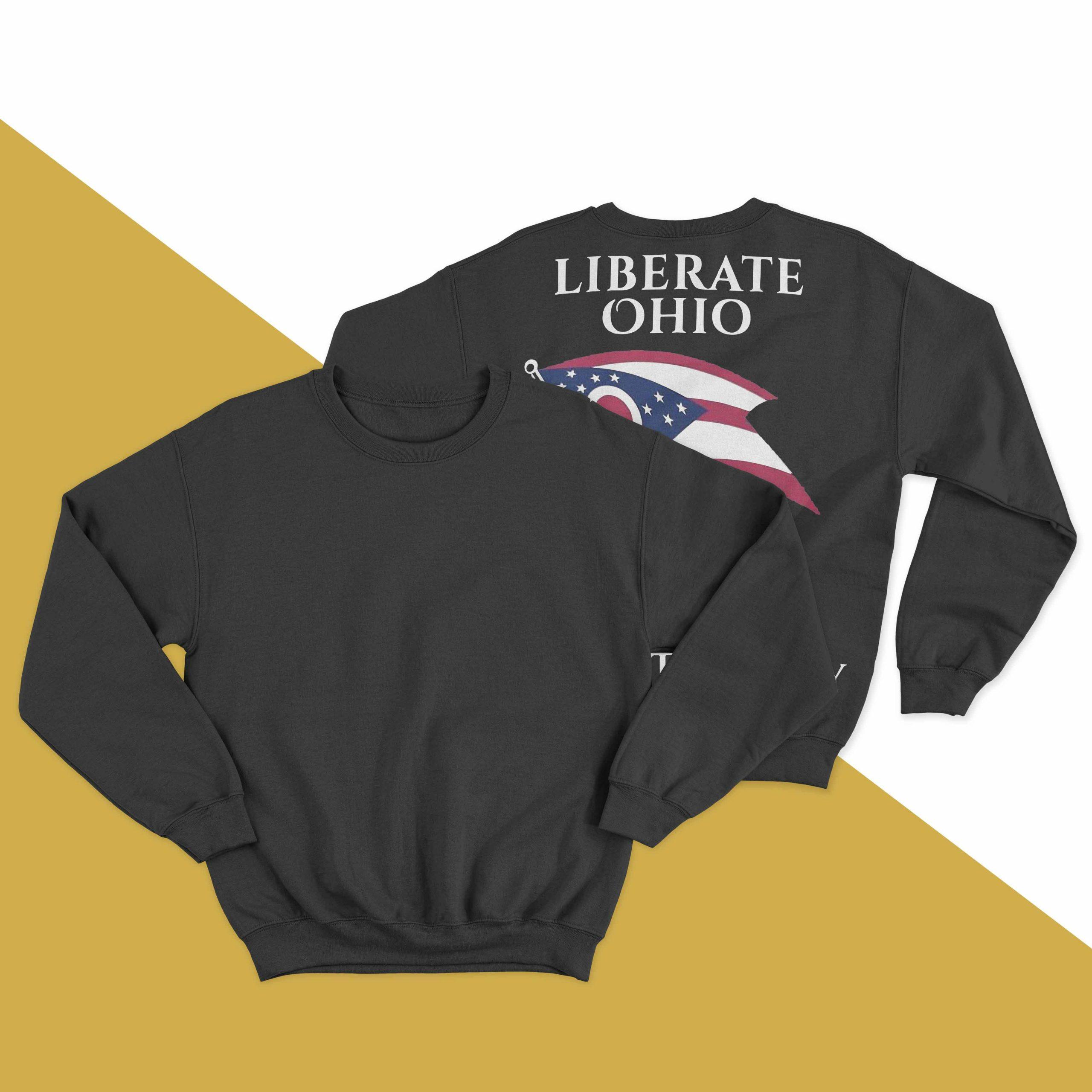 Liberate Ohio Resist Tyranny Sweater