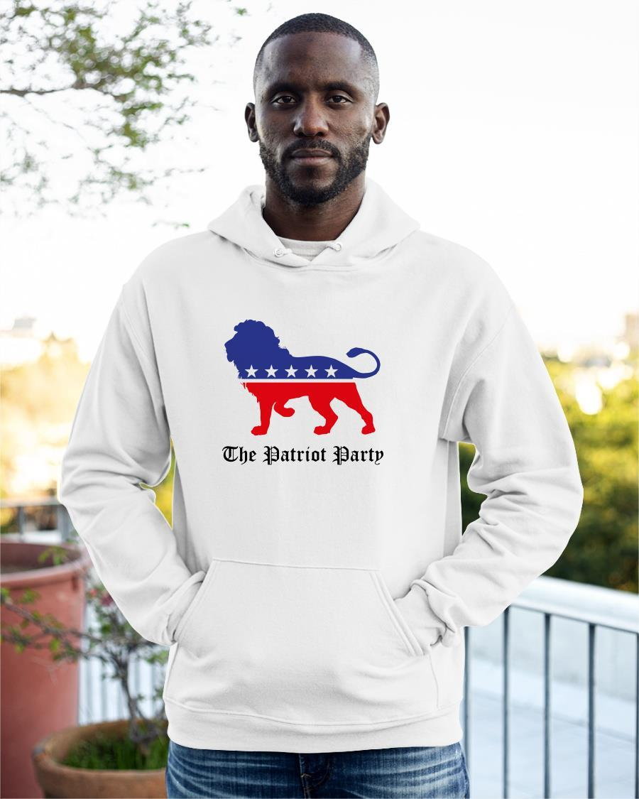 Lion Patriot Party Hoodie