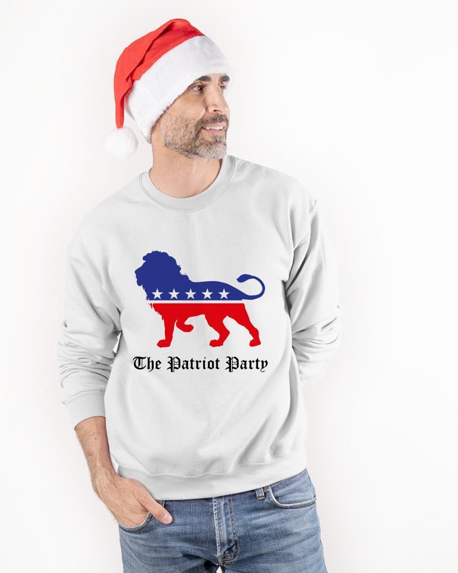 Lion Patriot Party Longsleeve