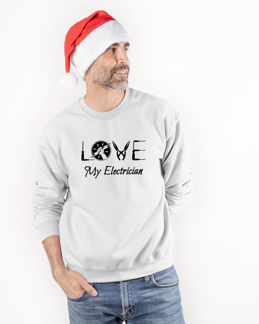 Love My Electrician Sweater