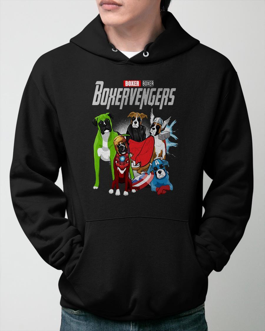 Marvel Boxer Boxervengers Hoodie