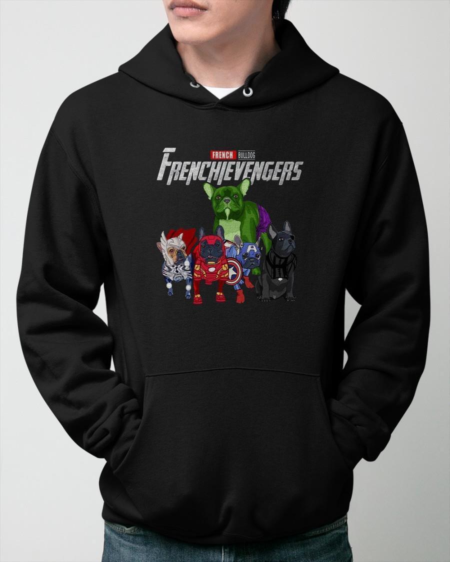 Marvel French Bulldog Frenchievengers Hoodie